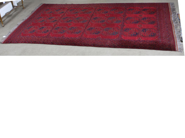 An Ersari carpet West Turkestan 284cm x 480cm