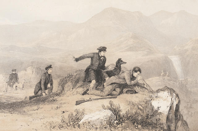 DEER STALKING SCROPE (WILLIAM) The Art of Deer-Stalking; illustrated by a Narrative of a Few Days Sport in the Forest of Atholl