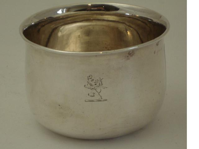 A William IV silver tumbler cup By William Marshall, Edinburgh 1834