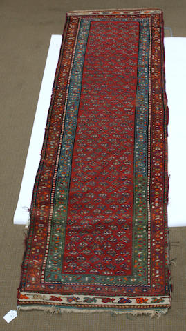 A runner West Persia 99cm x 335cm.