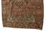 An Isfahan rug Central Persia 102cm x 146cm, 138cm x 211cm.