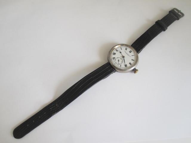 A gentleman's wristwatch, by John Elkan Ltd,