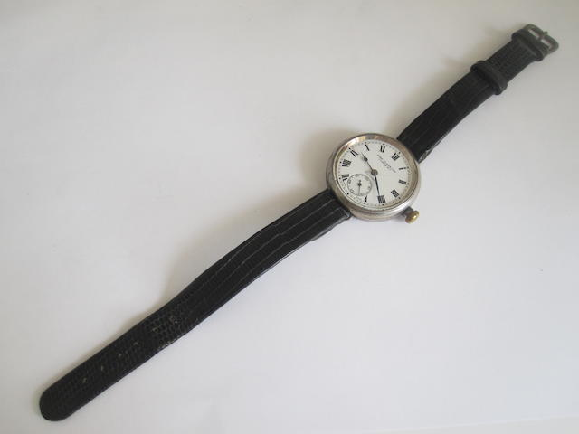 A gentleman's wristwatch, by John Elkan Ltd,
