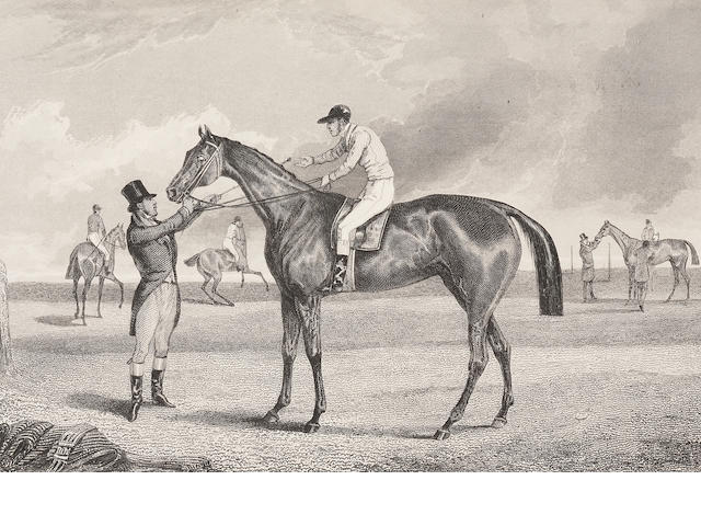 TATTERSALL (GEORGE) The Pictorial Gallery of English Race Horses; containing Portraits of all the Winners of the Derby, Oaks and St Leger Stakes