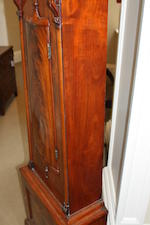 A 19th century mahogany longcase clock Inscribed James Alves, Coatbridge