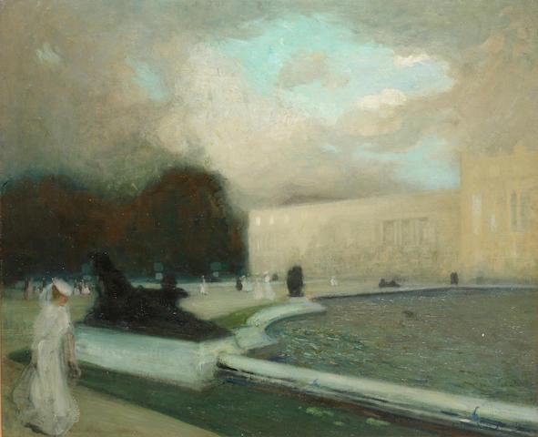 Lucien Victor Guirand de Scevola (1871-1950) The garden front, Versailles