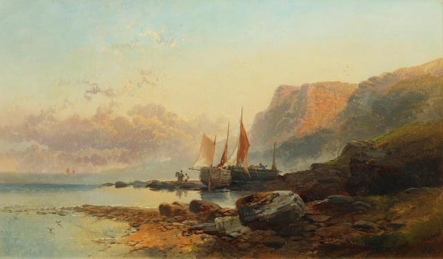 Joseph Horlor (British, 1809-1887) Near Seaton, Devonshire
