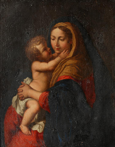 Circle of Pierre Mignard (Troyes 1612-1695 Paris) Madonna and Child