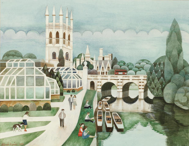 Alfred Daniels, RWS, RBA (British, born 1924) Magdalen Bridge, Oxford