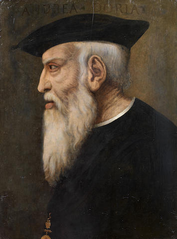 Italian School, 16th Century Portrait of Andrea Doria