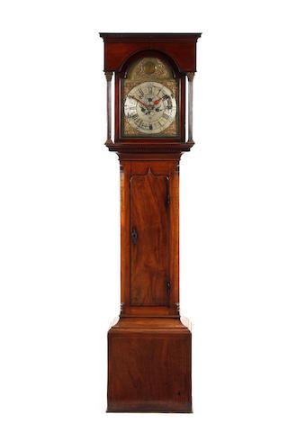 A George III 8 day mahogany longcase Clock J. Wildon. Askrigg.