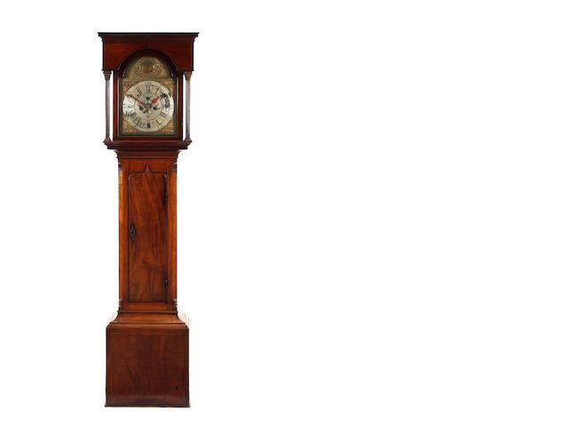 George 111 8 day mahogany longcase Clock J. Wildon. Askrigg.