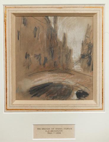 Hercules Brabazon Brabazon (British, 1821-1906) The Bridge of Sighs, Venice