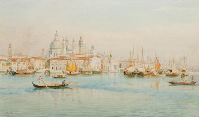 Ebenezer Wake Cook (British, 1843-1926) Venice from the Guidecca