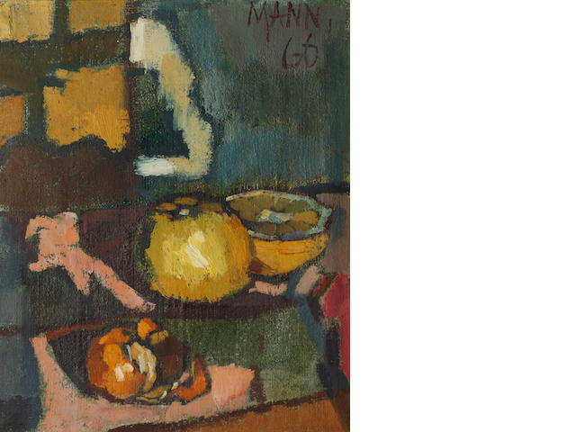 Cyril Mann (British, 1911-1980) Tangerine and grapefruit