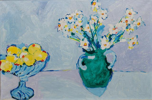 Philip Sutton (British, born 1928) Lemons, Fruit