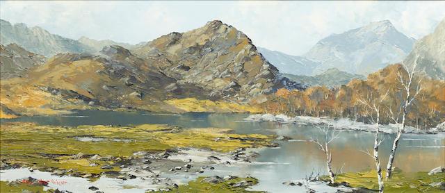 Charles Wyatt Warren (British, 1908-1983) Llyn Dinas Nantgwynant