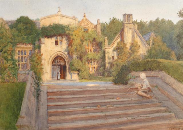 Charles Barrow Prescott (British, 1870-1932) Clevedon Court