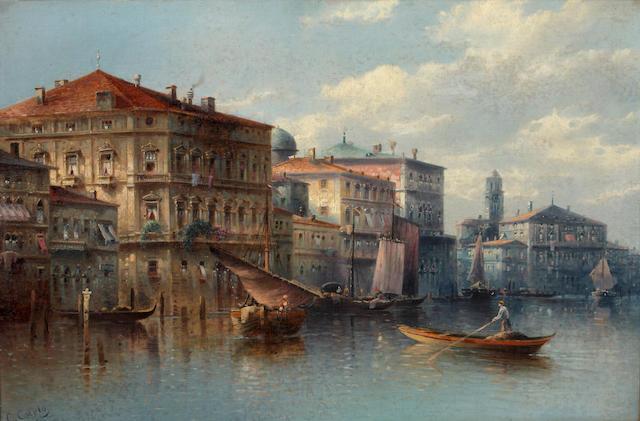 C. Carlo Venetian canal scene