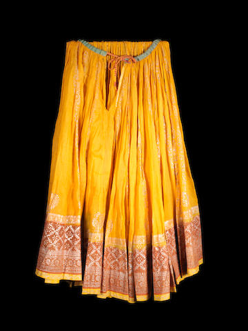 A Rajasthani traditional Skirt India