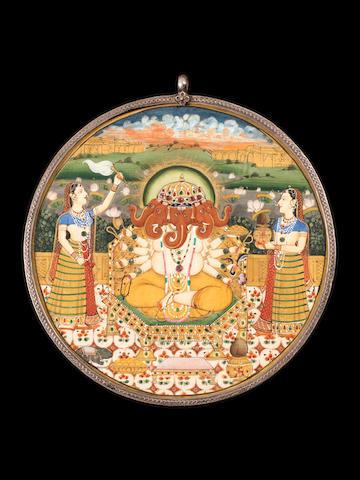 A portable Shrine Jaipur, circa 1870