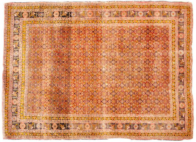 A Tabriz rug 180cm x 136cm