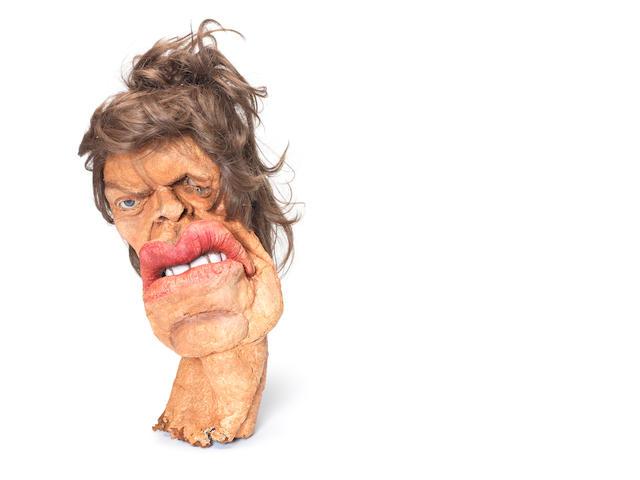 Spitting Image: Mick Jagger puppet