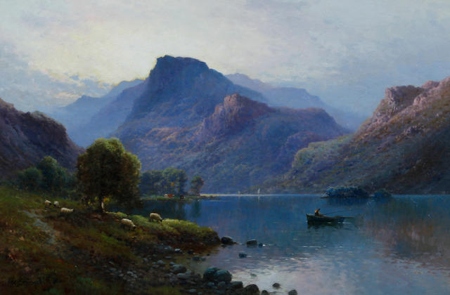 Alfred Fontville de Breanski (British, 1877-1957) 'Early Morning near Keswick'