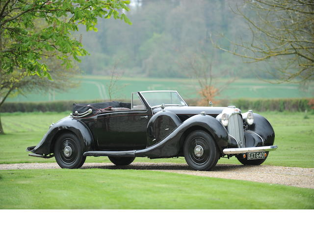 Two families from new, and the ex-'Taso' Mathieson,1938 Lagonda V12 Drophead Coupé  Chassis no. 14034 Engine no. 14034