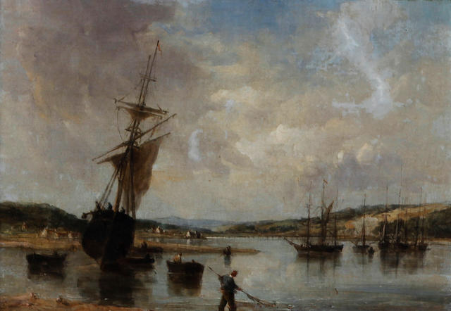 Alfred Vickers Snr. (British, 1786-1868) 'Teignmouth, Devon 1857'