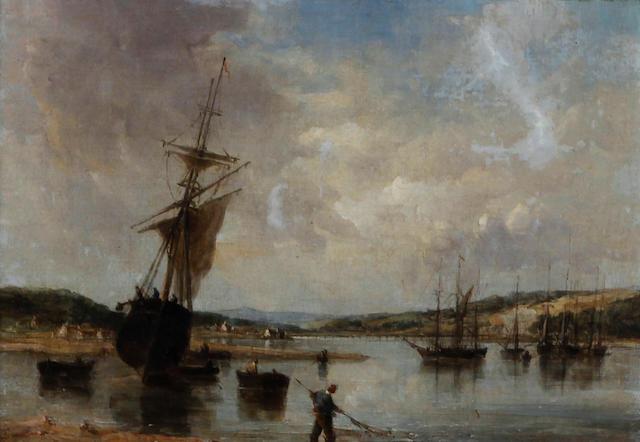Alfred Vickers Snr. (British, 1786-1868) 'Teignmouth, Devon 1857'