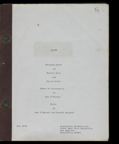 Alien: A revised draft script, May 1978, 3