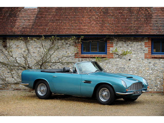 Family owned since 1979 and 58,000 miles from new,1970 Aston Martin DB6 Mk2 Volante to 'Vantage' Specification  Chassis no. DB6Mk2VC/3771/R Engine no. 400/4000