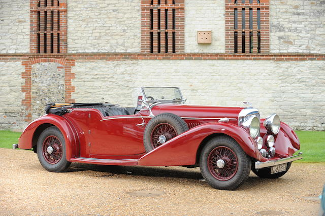 The ex-Mervyn Frankel, MR-Series,1939 Bentley 4¼-Litre Vanden Plas Style Tourer  Chassis no. B164MR Engine no. H4BA