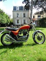 1973 Triumph X75 Hurricane Frame no. XH01950 Engine no. XH01950