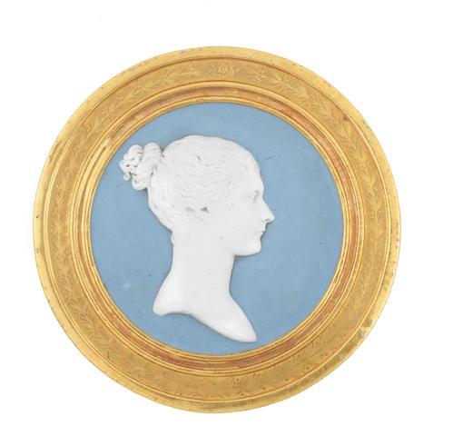 A Sèvres portrait plaque of the Empress Joséphine, circa 1808