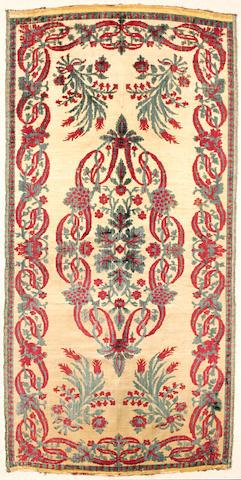 An Ottoman velvet Panel scutari Turkey, Early 19th Century