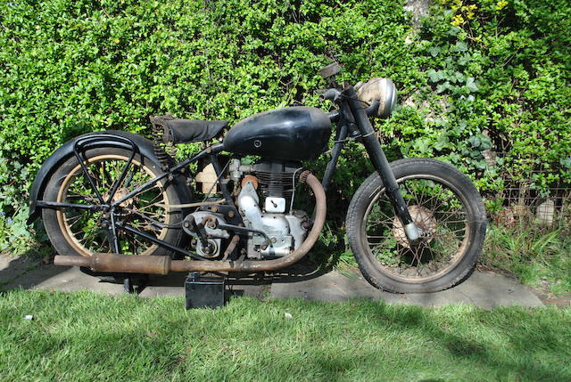 1945 Royal Enfield 346cc Model G Frame no. G8143 Engine no. 8143