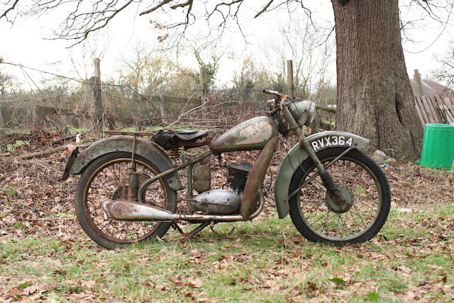 c.1951 BSA 123cc Bantam D1 Project Frame no. to be advised