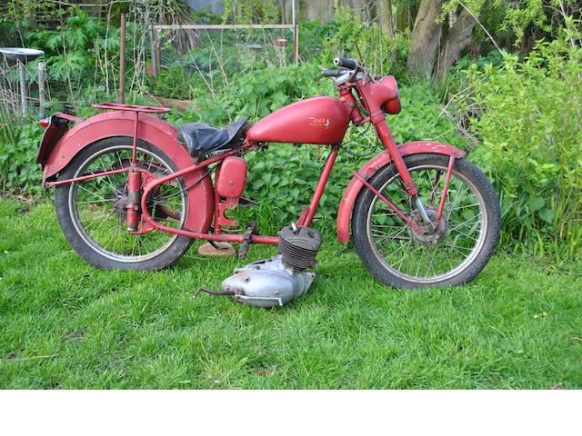1955 BSA Bantam (JPN 710)