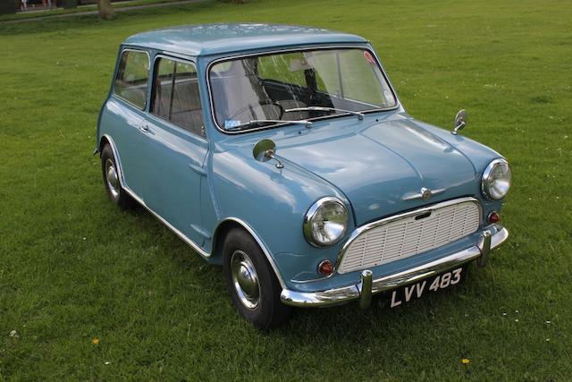 1960 Morris Mini Minor De Luxe Saloon  Chassis no. MA2S4/16503