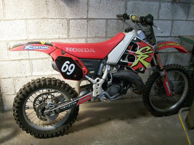 1996 Honda CR125 Moto-Crosser Frame no. HMXJE 5202692 Engine no. EJE01E 5204889