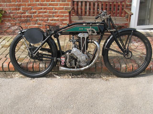 1925 New Imperial 350 Delux Semi Sport