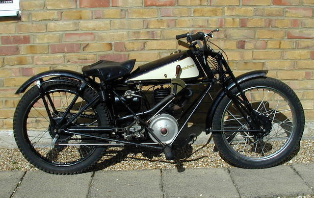 1929 Francis-Barnett 172cc Model 18 Frame no. 18436 Engine no. B210346