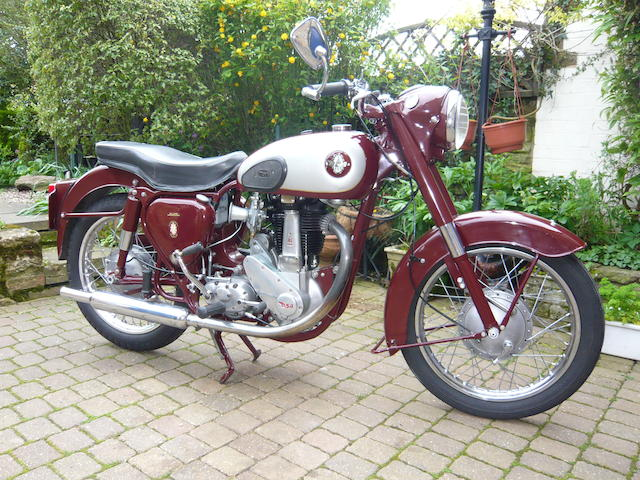 1956 BSA 347cc B31 Frame no. EB 315323 Engine no. BB 3126179
