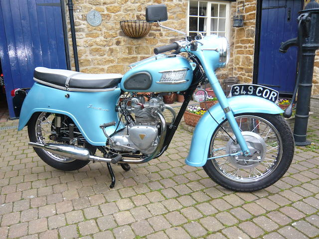 1961 Triumph 348cc Twenty-One Frame no. H 23631 Engine no. H 5316