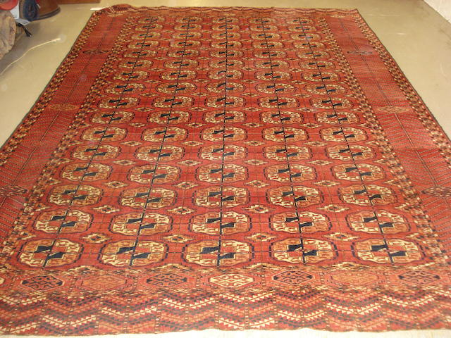 A Tekke carpet West Turkestan, 298cm x 206cm
