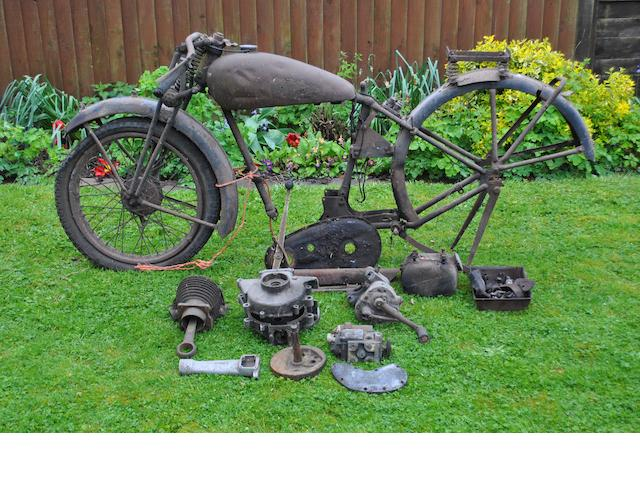 A 1937 BSA 250cc Tourer project,
