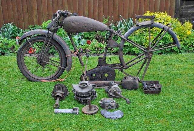 A 1937 BSA 250cc Tourer project,