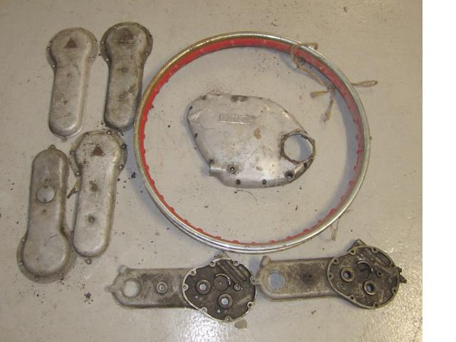 A Vincent engine case,